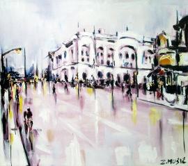 Banja Luka, contemporary art painting by Zlatko Music